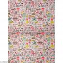 Papier décoratif à l'unité - Magical Summer - 30 x 42 cm - Summer Cool - Photo n°1
