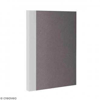 Bloc note Color - Bullet Journal - Gris - A6 - Feuilles Lignées