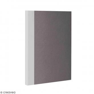 Bloc note Color - Bullet Journal - Gris - A6 - Feuilles Quadrillées