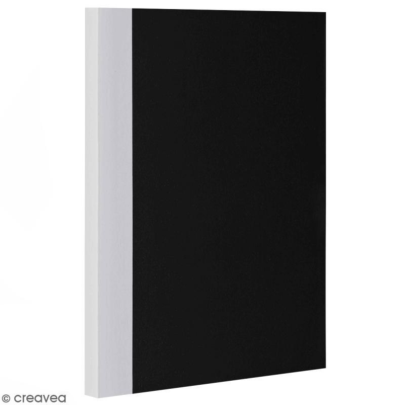 Bloc note Color - Bullet Journal - Noir et Gris - XL - Feuilles Lignées - Photo n°1