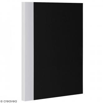 Bloc note Color - Bullet Journal - Noir et Gris - XL - Feuilles Lignées
