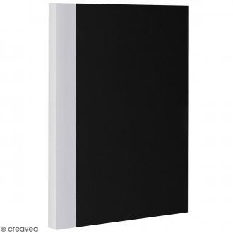 Bloc note Color - Bullet Journal - Noir et Gris - XL - Feuilles Quadrillées