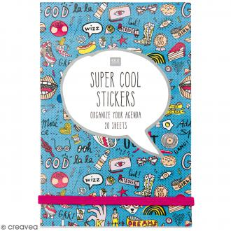 Carnet de stickers Magical Summer - Bleu