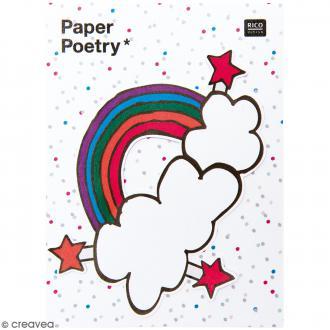 Notes adhésives Magical Summer - Arc en ciel - 50 feuilles