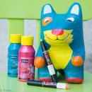 Coffret Skrib Marqueur peinture acrylique - Grafiti - 4 marqueurs - Photo n°2
