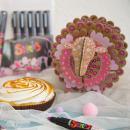 Coffret Skrib Marqueur peinture acrylique - Dragées - 6 marqueurs - Photo n°4