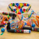 Coffret Skrib Marqueur peinture acrylique - Dragées - 6 marqueurs - Photo n°6