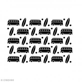 Pochoir multiusage A5 - Combi Van - 1 planche