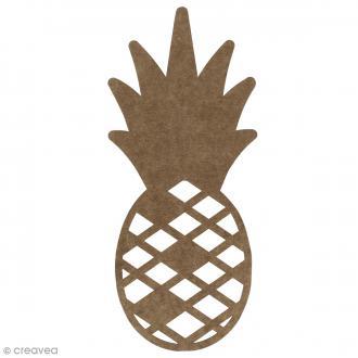 Ananas en bois à décorer - 30 cm
