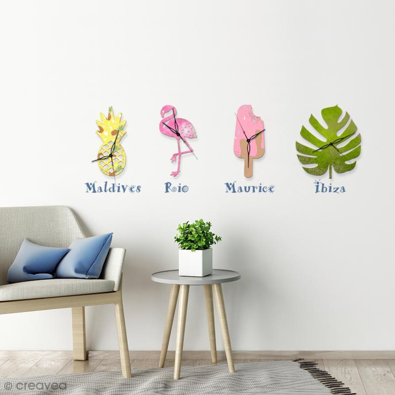 Feuille voyageur Monstera en bois à décorer - 30 cm - Photo n°2