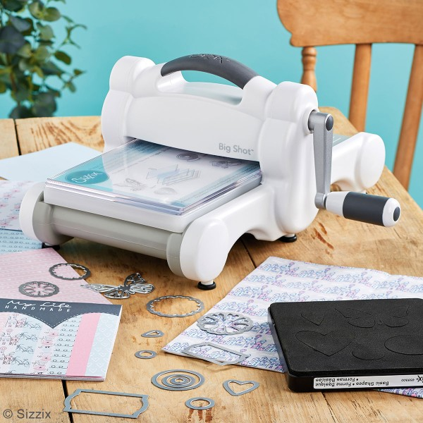 Big Shot Starter Kit - Machine de coupe et accessoires - Photo n°2