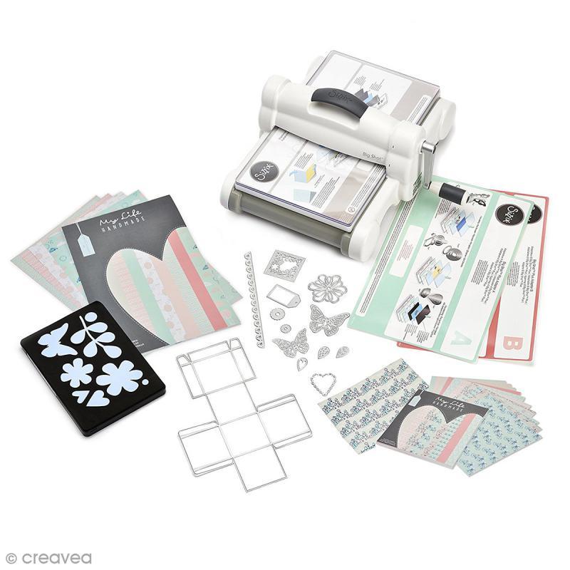 Big Shot Plus Starter Kit - Machine de coupe et accessoires - Photo n°1
