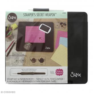 Stamper's Secret Weapon Sizzix - Tapis et outil perce-papier
