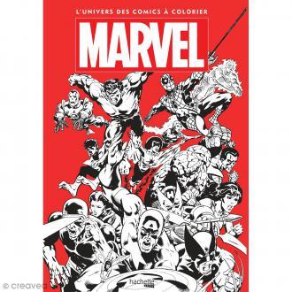 Livre de coloriage Marvel - 36 x 25 cm - 112 pages