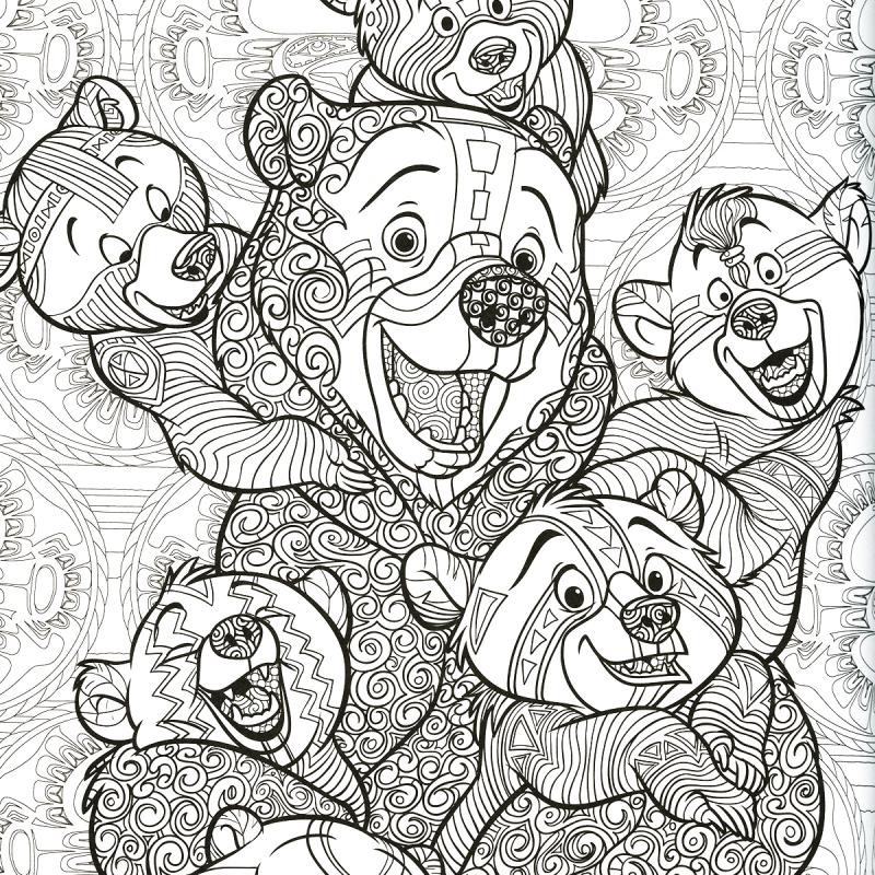 livre coloriage adulte a4 disney le nouveau bestiaire extraordinaire 100 coloriages. Black Bedroom Furniture Sets. Home Design Ideas