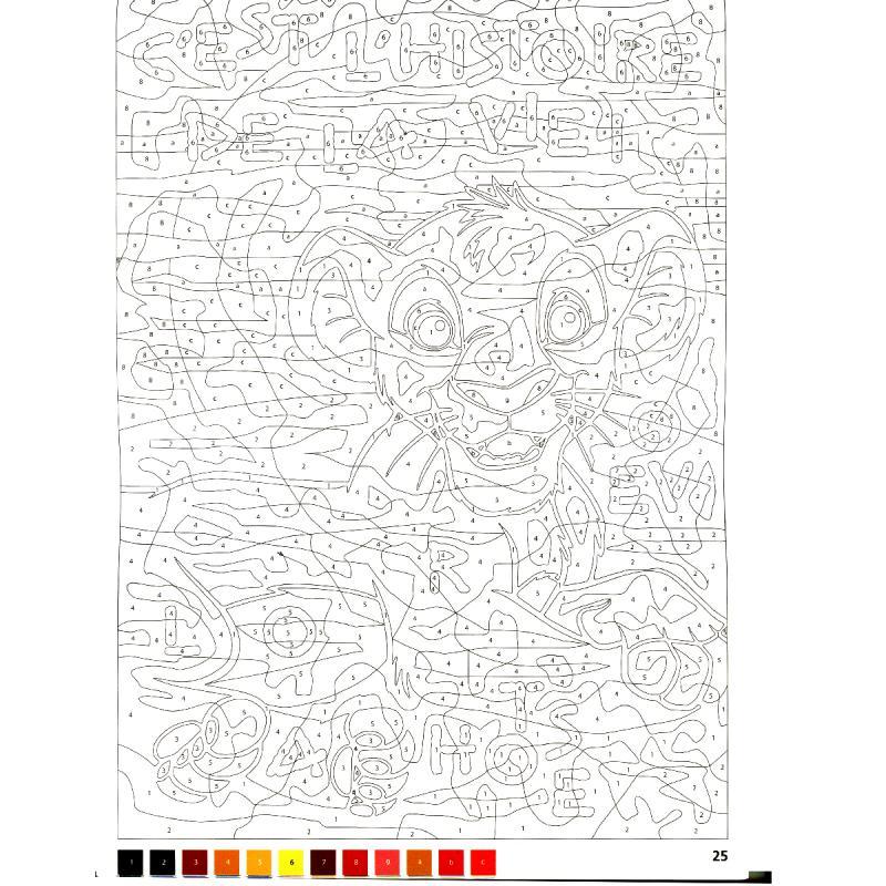 Bloc coloriage adulte A4 - Hakuna Matata Disney - 50 ...