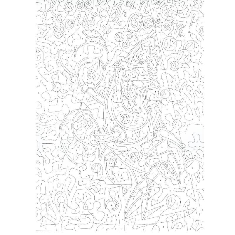 Bloc Coloriage Adulte A4 Hakuna Matata Disney 50