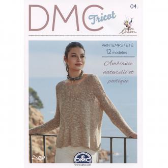 Catalogue DMC Tricot 4 - Femmes - Printemps Eté - 12 modèles