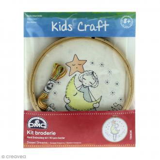 Kit DMC broderie pour enfants - Sweet Dreams