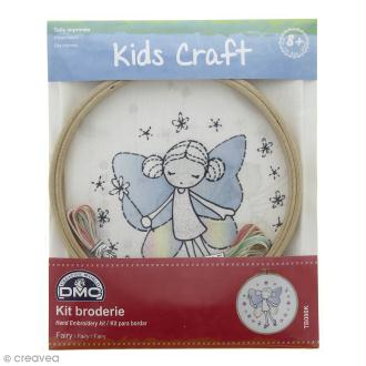 Kit DMC broderie pour enfants - Fairy