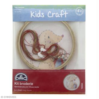 Kit DMC broderie pour enfants - Le chien