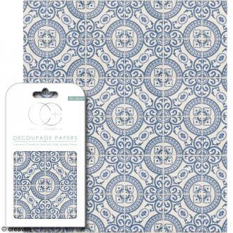 Feuilles de papier décoratif - 35 x 40 cm - Persia - 3 pcs