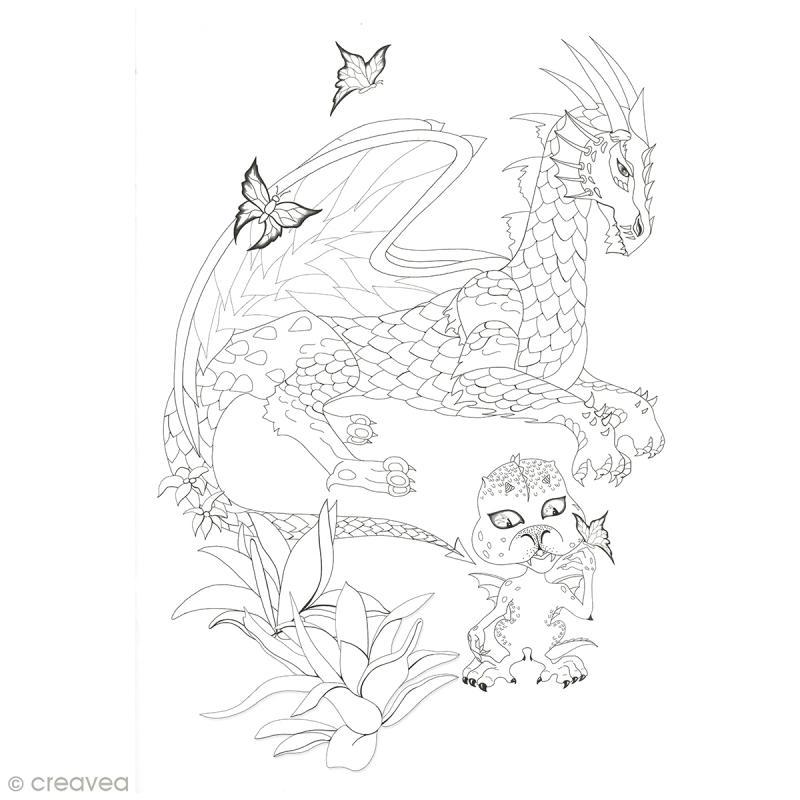 Cahier de coloriage - Fées et Légendes - 29,6 x 20,8 cm - Photo n°6