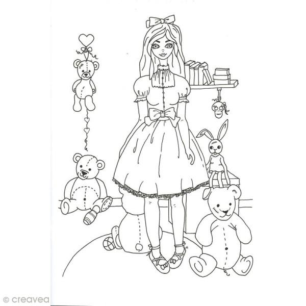 Cahier de coloriage - Les pépettes - 29,6 x 20,8 cm - Photo n°5