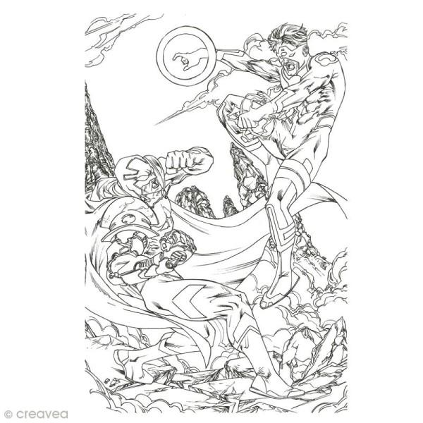 Cahier de coloriage - Super Héros - 29,6 x 20,8 cm - Photo n°4