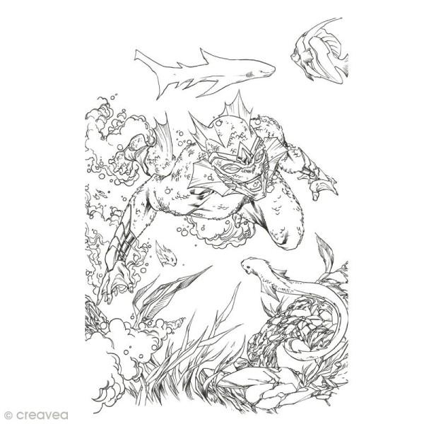 Cahier de coloriage - Super Héros - 29,6 x 20,8 cm - Photo n°5