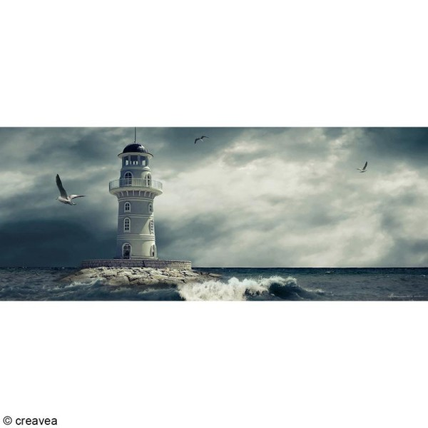 Image 3D Paysage - Phare - 20 x 50 cm - Photo n°1