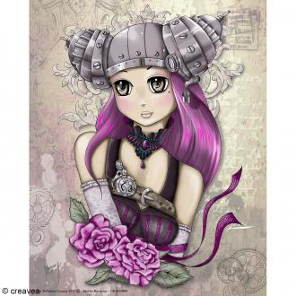 Image 3D Manga - Girly Steampunk - 24 x 30 cm