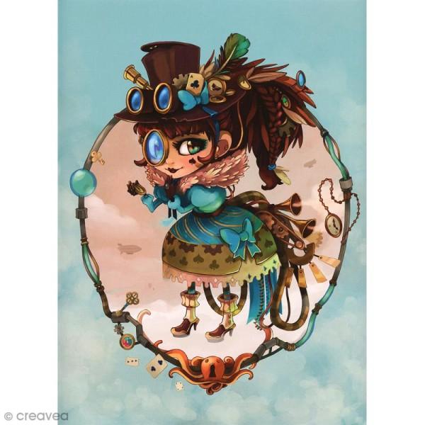 Image 3D Divers - Lolita steam - 24 x 30 cm - Photo n°1