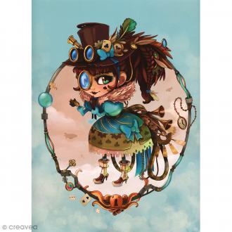 Image 3D Divers - Lolita steam - 24 x 30 cm