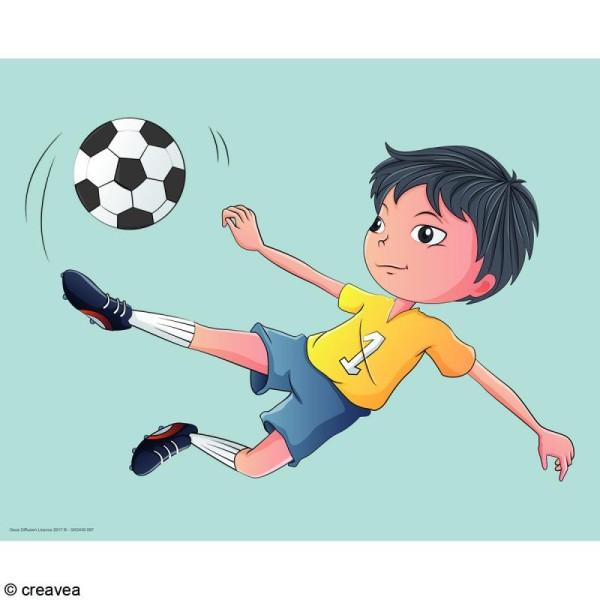 Image 3D Enfant - Foot - 24 x 30 cm - Photo n°1