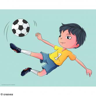 Image 3D Enfant - Foot - 24 x 30 cm