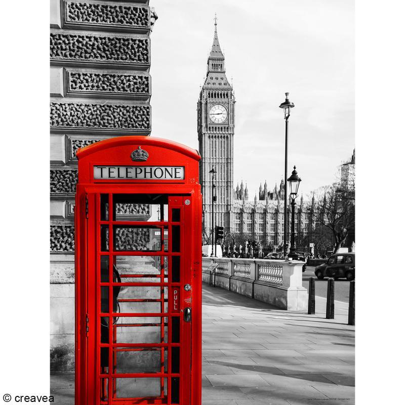 Image 3D Divers - Londres - 30 x 40 cm - Photo n°1