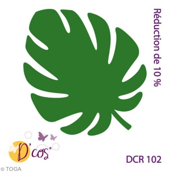 Die D'co - Feuille Philodendron - 1 matrice de découpe - Photo n°2