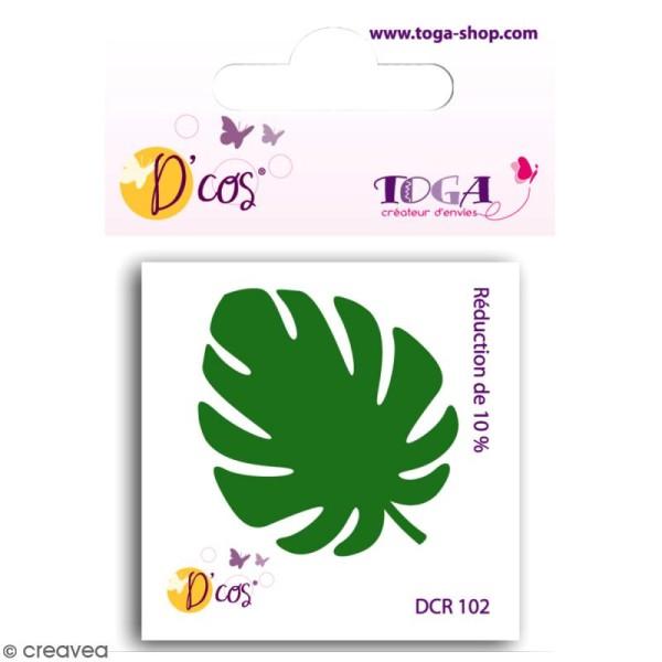 Die D'co - Feuille Philodendron - 1 matrice de découpe - Photo n°1