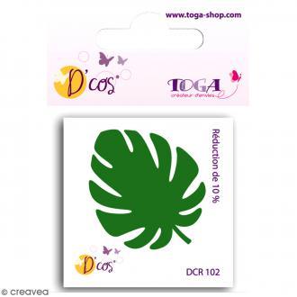 Die D'co - Feuille Philodendron - 1 matrice de découpe