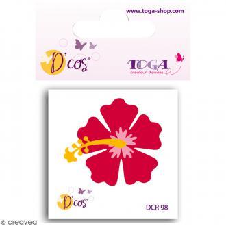 Die D'co - Fleur Hibiscus - 1 matrice de découpe