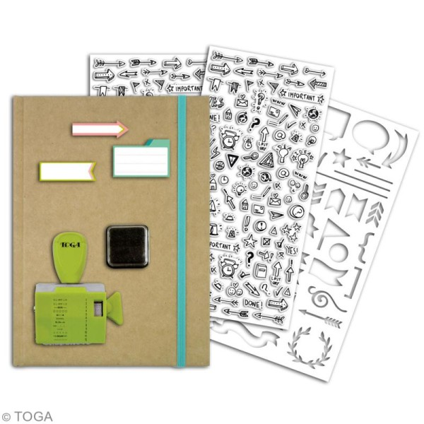 Kit Complet Bullet Journal DIY - Photo n°3