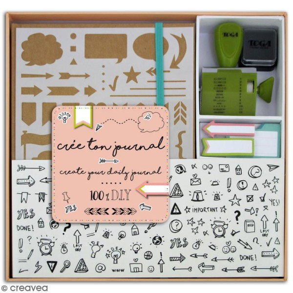 Kit Complet Bullet Journal DIY - Photo n°1