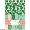 Papier scrapbooking Toga - Color Factory - Jungle - 48 feuilles en A4 - Photo n°1