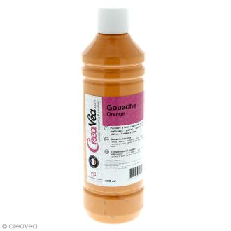 Gouache prête à l'emploi - Orange - 500 ml