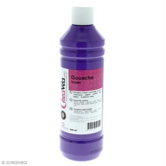 Gouache prête à l'emploi - Violet - 500 ml