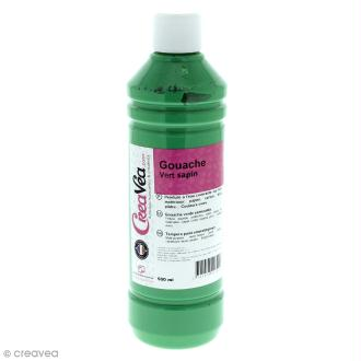 Gouache prête à l'emploi - Vert sapin - 500 ml