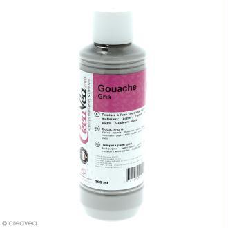 Gouache prête à l'emploi - Gris - 250 ml