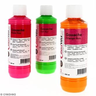 Gouache fluo - 250 ml
