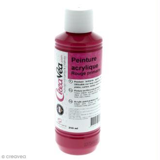 Peinture acrylique brillante - Magenta - 250 ml